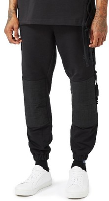 Men's Topman Aaa Collection Lace Up Jogger Pants $85 thestylecure.com
