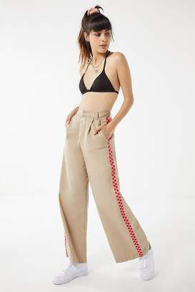Lazy Oaf Checkered Wide Leg Cargo Pant