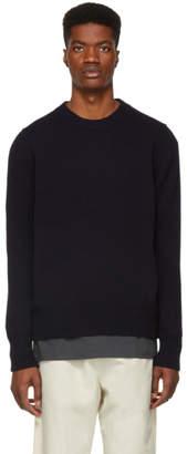 Studio Nicholson Navy Sorello Sweater