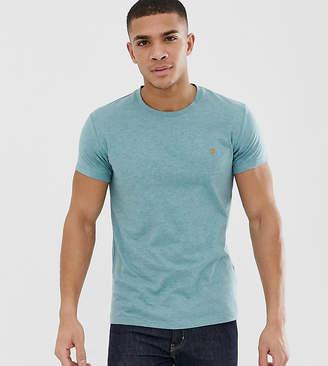 Farah Gloor slim fit marl t-shirt in light green Exclusive at ASOS