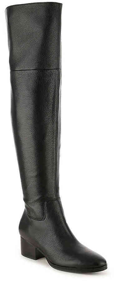 Women's Dallyce Over The Knee Boot -Black