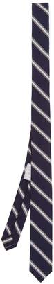 Thom Browne Striped silk and cotton-blend tie