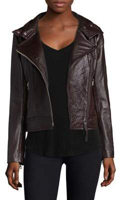 Mackage Zip Leather Jacket