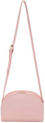 A.P.C. Pink Half-Moon Bag
