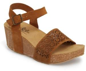 Bos. & Co. Lolo Platform Wedge Sandal