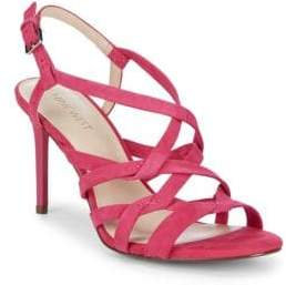Nine West Rainford Strappy Suede Sandals