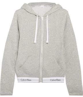 Calvin Klein Underwear Modern Cotton-Blend Jersey Hooded Top
