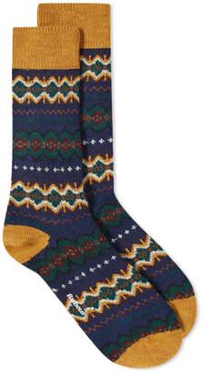 Barbour Caistown Fair Isle Sock