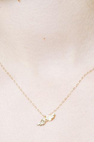 Mine Jewelry Wing Charm Necklace