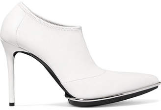 Alexander Wang Cara Leather Ankle Boots - White