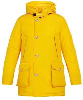 Woolrich Arctic Down Filled Hooded Parka - Mens - Yellow