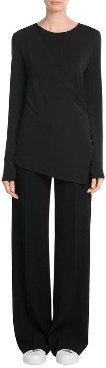 DKNYDKNY Jersey Top with Asymmetric Hem