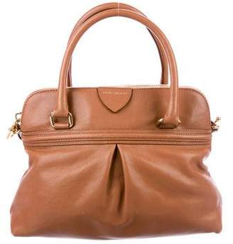Marc Jacobs Pleated Leather Satchel