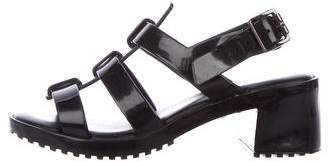 Mel by Melissa Girls' Jelly Cage Sandals
