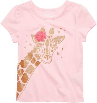Epic Threads Little Girl's Giraffe Cotton Blend Tee