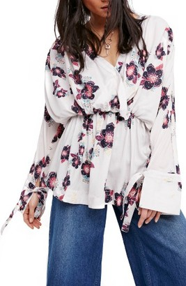 Women's Free People Tuscan Dreams Tunic Dress $108 thestylecure.com
