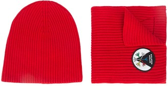 Aztech Mountain 1st Tracks hat & scarf
