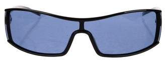 Ralph Lauren Tinted Shield Sunglasses