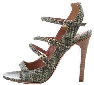 Derek Lam Embellished Ankle Strap Sandals