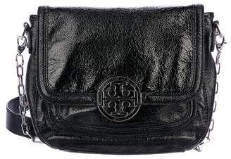 Tory Burch Patent leather Chain-Link Crossbody Bag