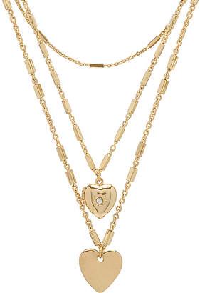 Ettika Hearts Layered Necklace