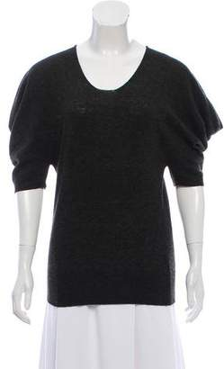 Lanvin Wool Short Sleeve Top