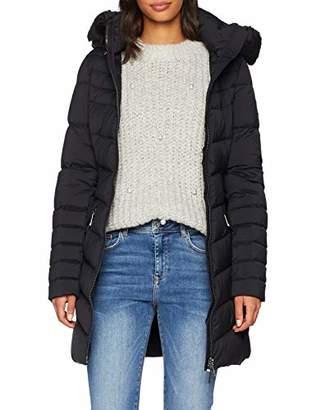 ... Tommy Hilfiger Women s April Str Down Coat (Black Beauty 094), Large 47201563c2