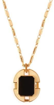 Cercle Amédée Cercle Amedee - Chevalier Legion Of Honour Locket Necklace - Womens - Black