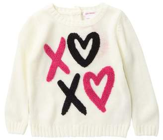 Joe Fresh Graphic Sweater (Baby Girls)