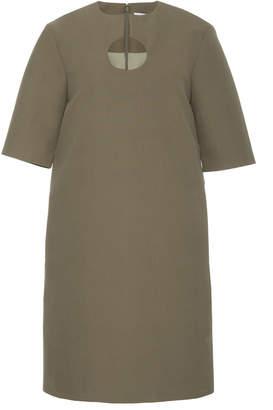 Partow Nina Structured Cotton Mini Dress