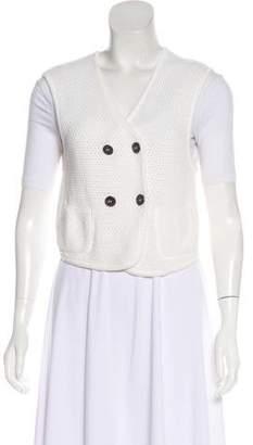 Sonia Rykiel Double-Breasted Knit Vest