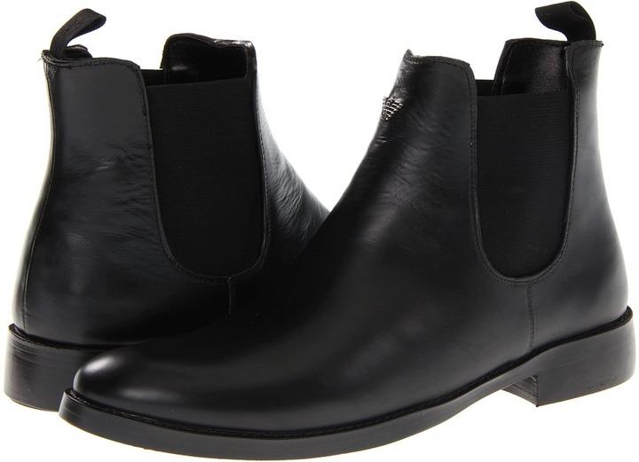 Armani Jeans Waterproof Pull On Boot
