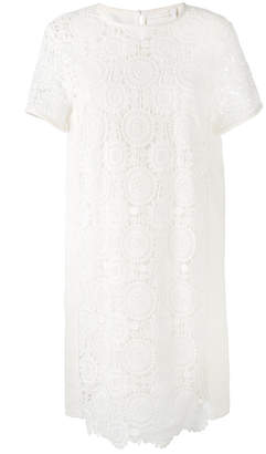 Chloé Guipure lace shift dress