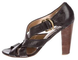 112ccf82e89 Pre-Owned at TheRealReal · Chloé Multistrap Leather Sandals