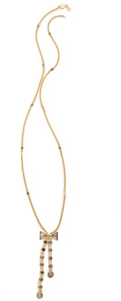 Marc by Marc Jacobs Polka Dot Bow Lariat