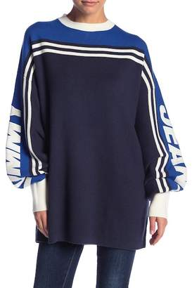Tommy Jeans Oversized Racing Stripe Sweater