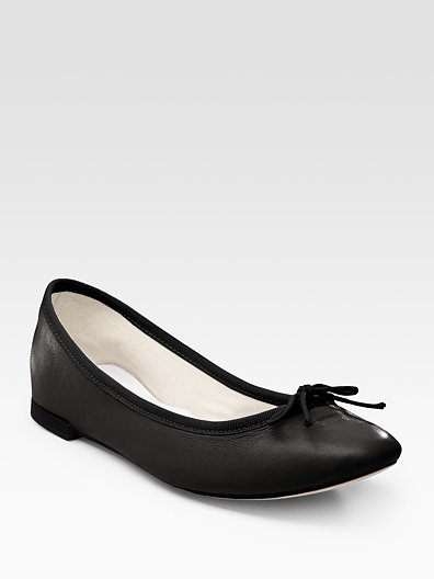 Repetto Lambskin Ballet Flats