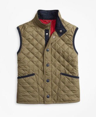 Brooks Brothers Boys Quilted Vest