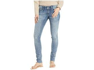 Ariat R.E.A.L.tm Skinny Leopard Jeans in Blue Leopard