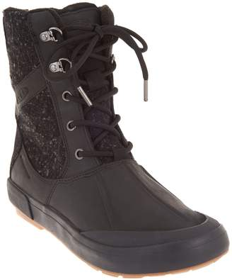 Keen Waterproof Leather Lace-Up Boots - Elsa II Wool
