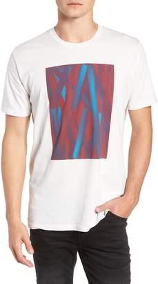 Vestige Acrylic Stripe Graphic T-Shirt