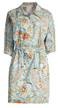 Etro Paisley Shirtdress