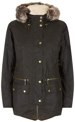 Barbour Kelsall Waxed Parka