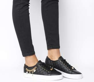 GUESS Graselin Charm Trainers Black