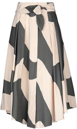 Milly 3/4 length skirts