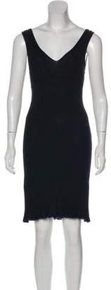 Rag & Bone Yasmine Rib Knit Knee-Length Dress w/ Tags