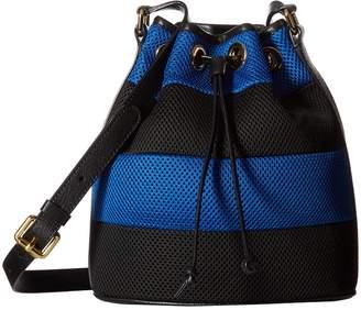 Moschino Mesh Bucket Bag Bags