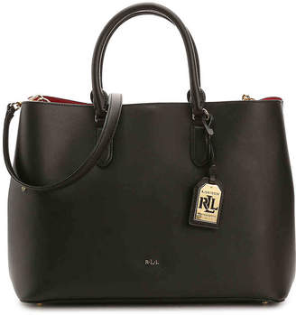 Lauren Ralph Lauren Dryden Marcy Leather Satchel - Women's