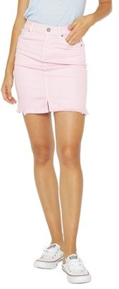 James Jeans Women's Liv Denim Skirt