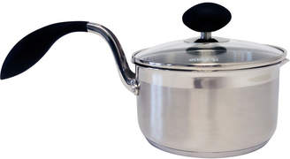 Asstd National Brand Eazigrip 1.5-Qt. Stainless Steel Non Stick Covered Saucepan With Ergonomic Handle And Colander Lid